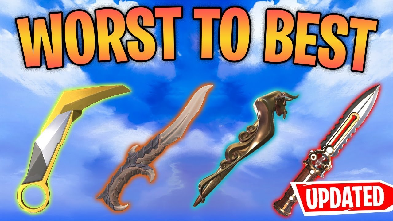 Download *UPDATED* Ranking Every VALORANT KNIFE From Worst to Best (Melee)