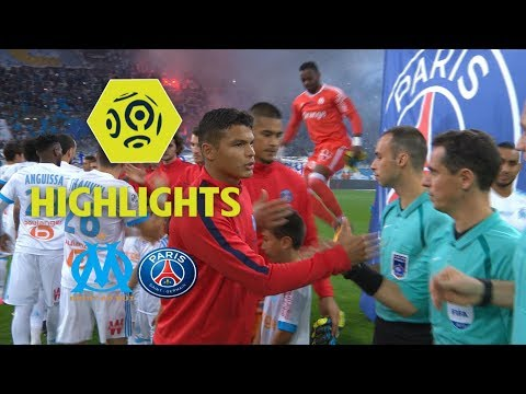 Olympique de Marseille - Paris Saint-Germain (2-2) - Higlights (OM - PSG) / 2017-18