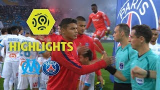 Olympique de Marseille - Paris Saint-Germain (2-2) - Higlights (OM - PSG) / 2017-18