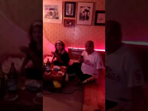 Karaoke Christmas Cebu moment2 12/25/16