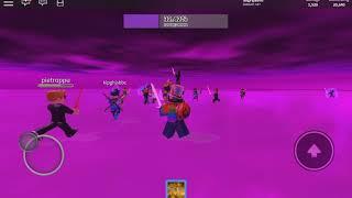 The Final Battle Against Thanos: Roblox Infinity War