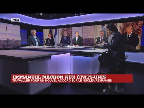 Emmanuel Macron aux États-Unis : Iran, Syrie, commerce, climat...les sujets qui fâchent