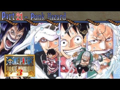 Let's Play One Piece: Pirate Warriors 3 - Part 21 [Punk Hazard]