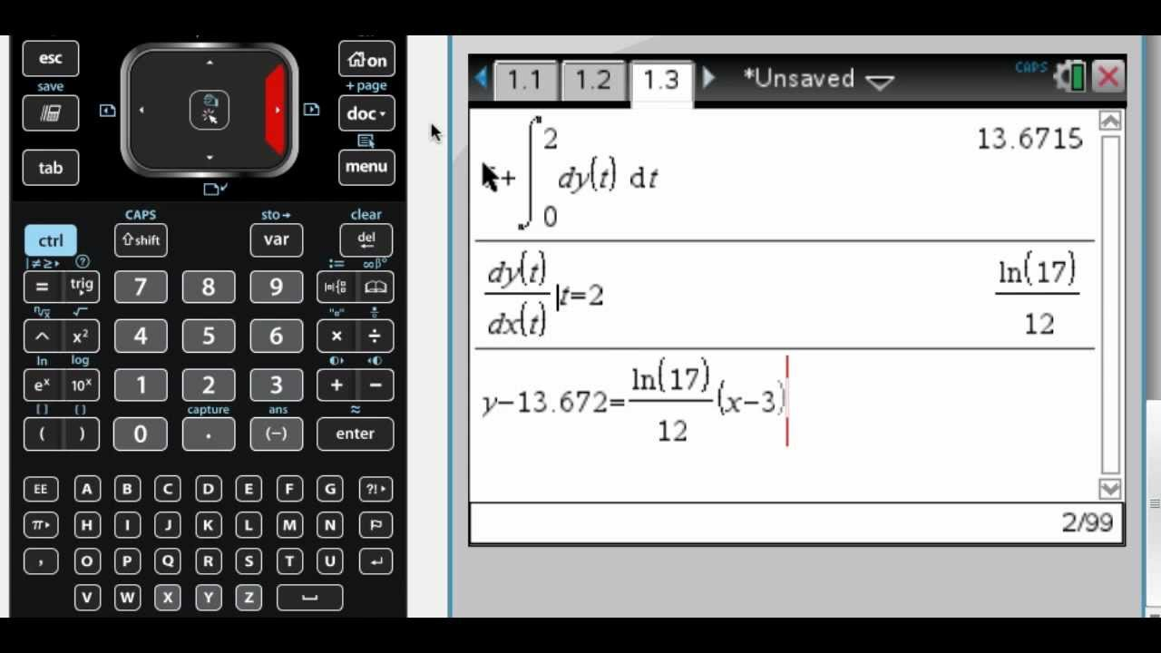 Calc BC 2005 (Form B) #1 - YouTube