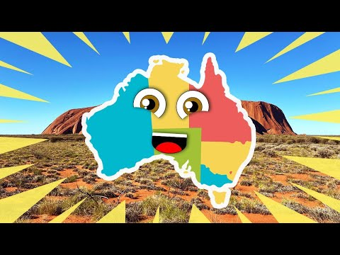 Australia Geography/Australia States And Territories Song