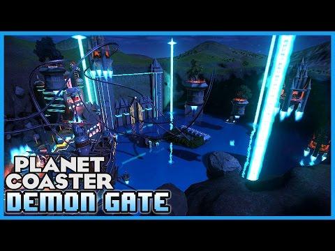 DEMON GATE! An Underwater Sanctuary! Coaster Spotlight 142 #PlanetCoaster