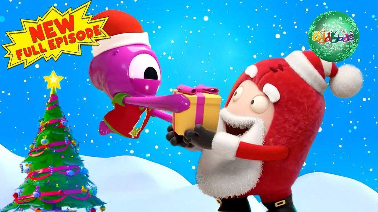 Oddbods | CHRISTMAS 2019 | Festive Encounters | FULL EPISODE | Funny Cartoons For Kids