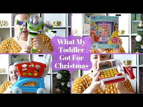What My Toddle Got For Christmas   Christmas Haul   Toddler Gift Ideas