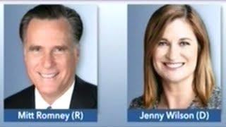MITT ROMNEY vs JENNY WILSON U.S. Senate Debate Utah
