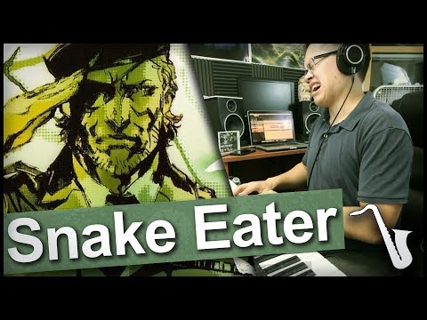 Metal Gear Solid 3: Snake Eater Jazz Arrangement || insaneintherainmusic