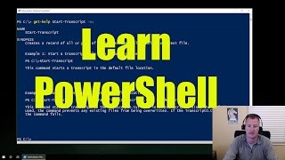 Microsoft PowerShell for Beginners - Video 1