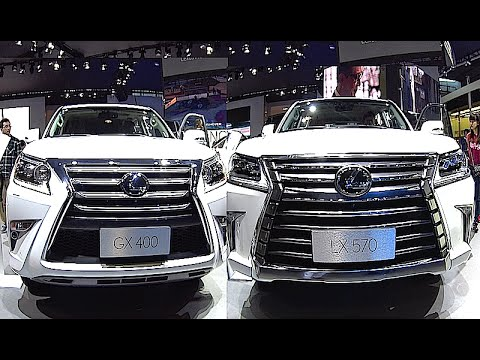New Lexus Lx 570 2016 2017 Interior Exterior Vs Gx 400 460 You