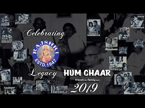 Rajshri Productions | The Legacy | Hum Chaar 2019 Title Announcement