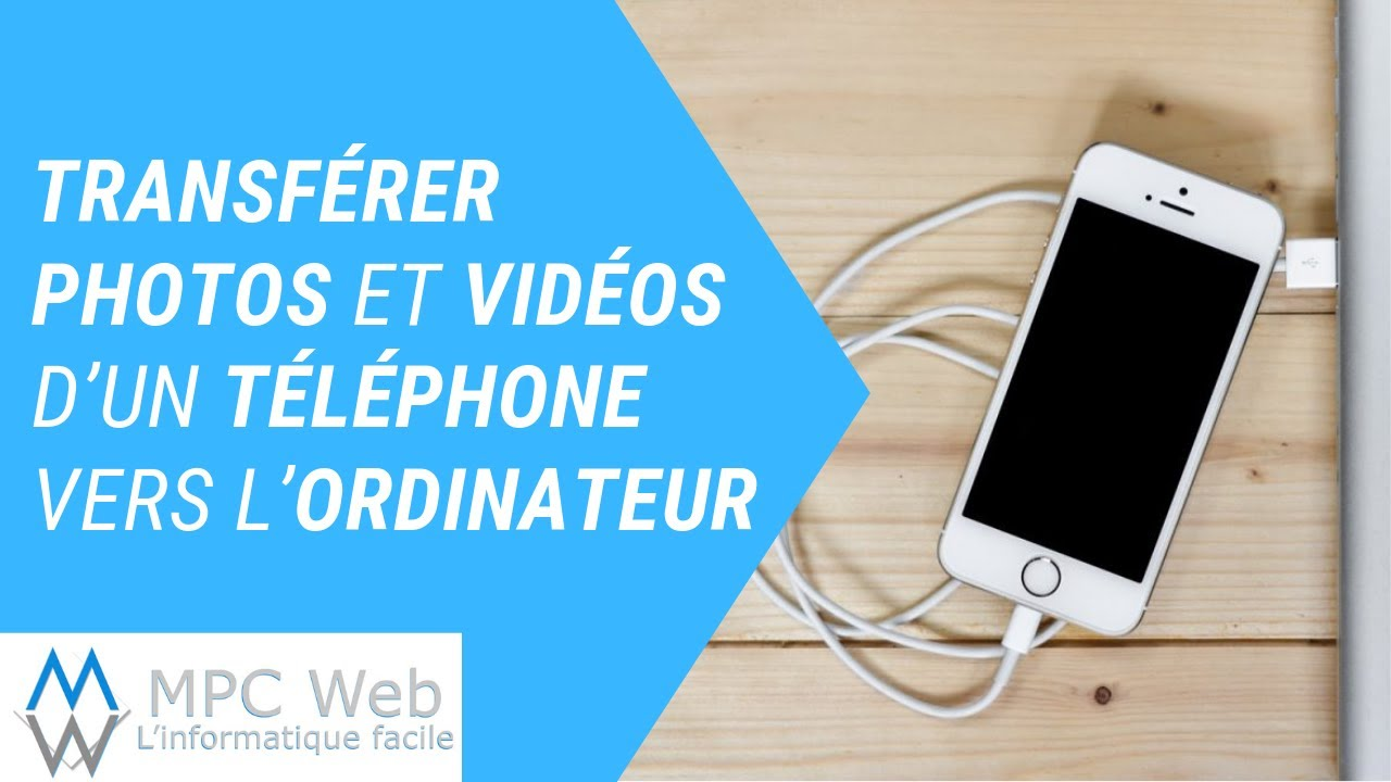 comment transferer photos smartphone vers pc