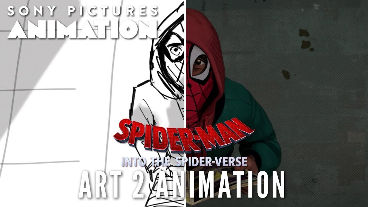 Art 2 Animation: Taking the Leap   SPIDER-MAN: INTO THE SPIDER-VERSE