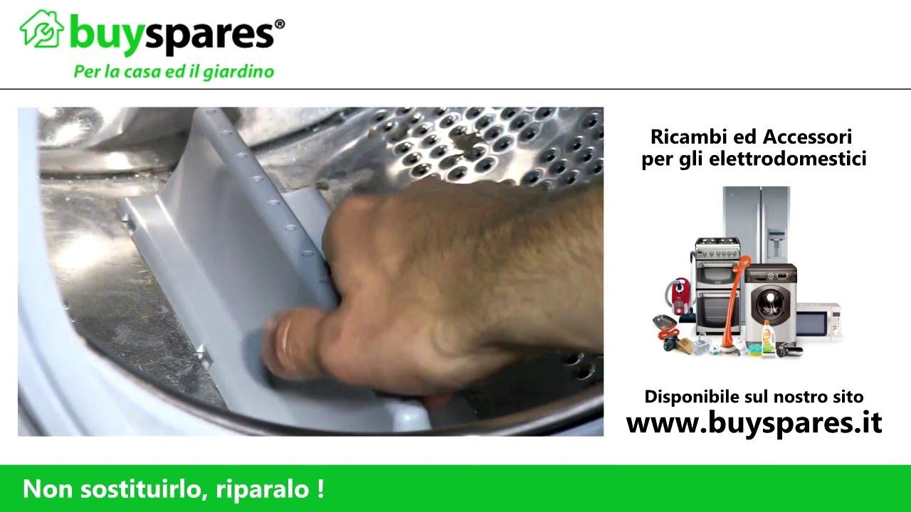 Come Cambiare Laletta Del Cestello In Una Lavatrice Youtube