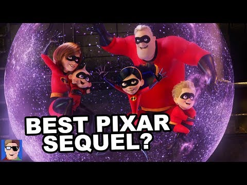 Is Incredibles 2 The Best Pixar Sequel? | SPOILER REVIEW