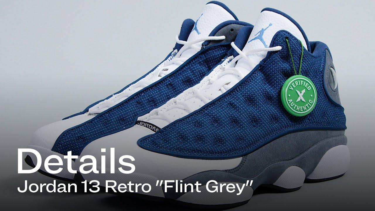 Air Jordan 13 Flint: Details Of A