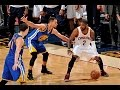 Kyrie Irving Crosses Up Steph Curry!