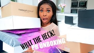 WHAT THE HECK DID PR SEND ME? | ALL NEW STUFF!!