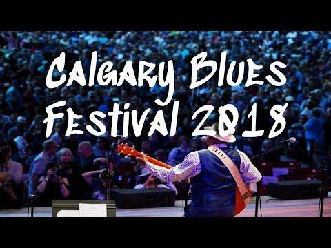 Calgary International Blues Festival 2018