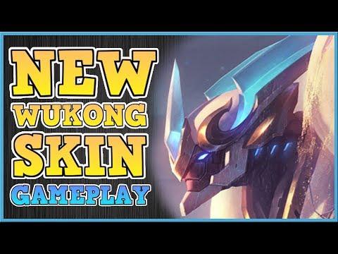 LANCER STRATUS WUKONG | NEW SKIN GAMEPLAY | Wukong MiD LANE PBE SEASON 8 GAMEPLAY
