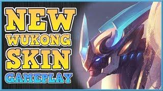 LANCER STRATUS WUKONG   NEW SKIN GAMEPLAY   Wukong MiD LANE PBE SEASON 8 GAMEPLAY