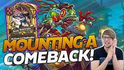 Mounting A Comeback w/ Flurgl! | Hearthstone Battlegrounds | Savjz