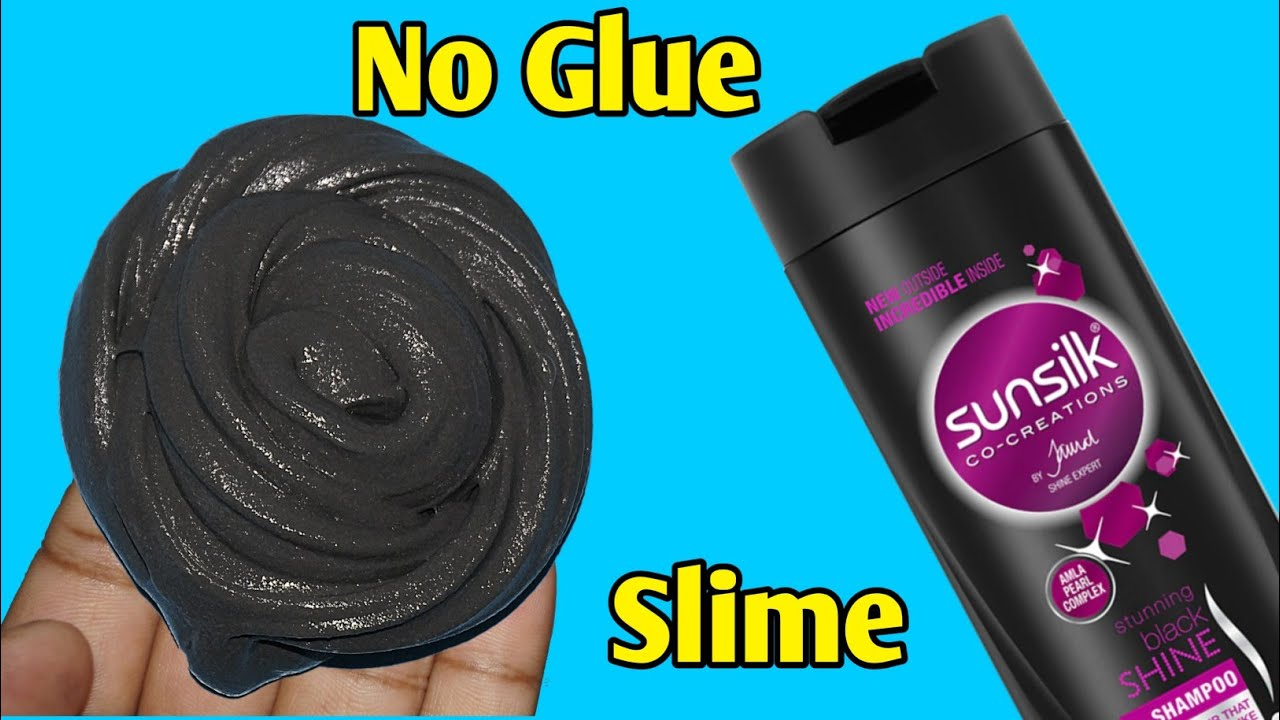 How To Make Slime With Shampoo l How To Make Slime Without Glue Or Borax l How To Make Slime