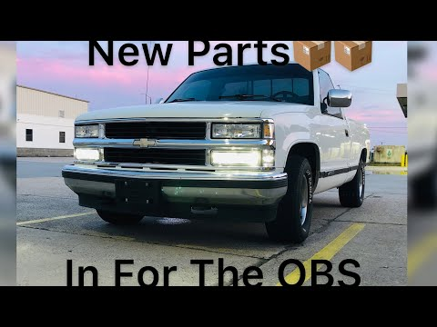 94 Chevy Silverado OBS New Dash Pad Instal And Radio And Speakers