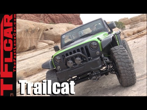 We Drive the 707 HP Hellcat Jeep Trailcat Concept Off-Road!