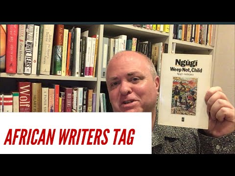 African Writers Tag