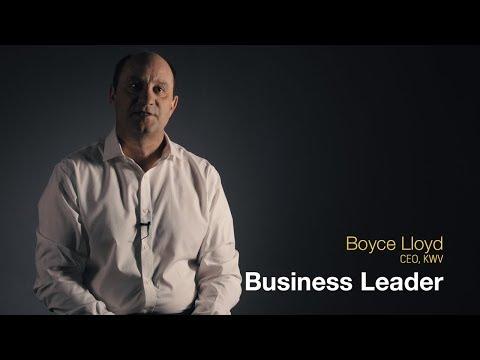 The Boyce Lloyd business leadership journey