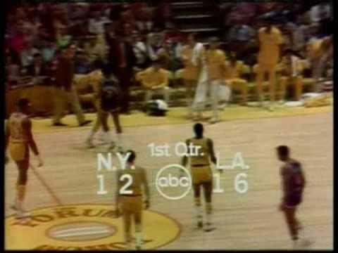 1972 NBA Finals: Knicks at Lakers, Gm 5 part 2/11
