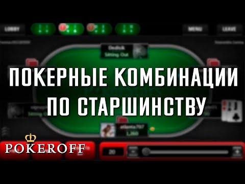 Школа покера - Комбинации карт в покере