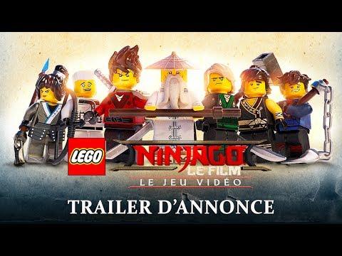 LEGO NINJAGO, le film : le jeu vidéo - Trailer d'Annonce streaming vf
