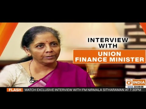 DD India's Exclusive Interview With Finance Minister On COVID Reforms, Situations & Way Forward