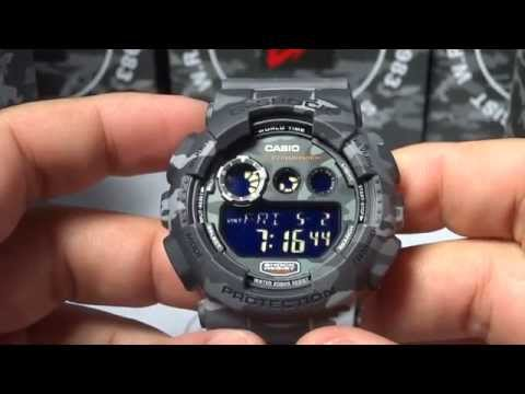 8c49d20e5bd2 CASIO G-SHOCK REVIEW AND UNBOXING GD-120CM-8 GRAY URBAN CAMOUFLAGE ...