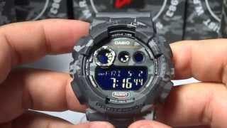 CASIO G-SHOCK REVIEW AND UNBOXING GD-120CM-8 GRAY/URBAN CAMOUFLAGE SERIES