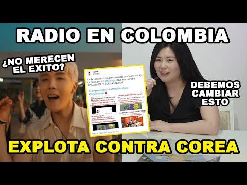 RADIO EN COLOMBIA SE BURLA DE COREA   COREANOS LATINOS PIDEN DISUCULPAS   ARMY NO SE DEBE DISCULPAR!