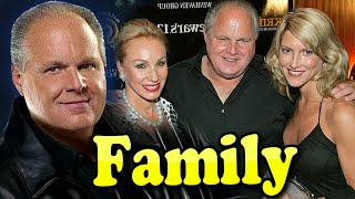 Rush Limbaugh Family With Wife Kathryn Adams 2020