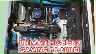 Kaby Lake Gaming PC Build with 1080 Ti! With 1080p Gaming test! [Ultra High End Build] 4k