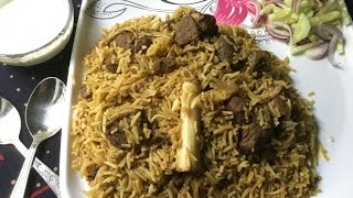 Mutton Yakhni Pulao  Traditional Authentic Recipe - In Bengali Recipe