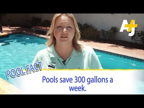 Pools Save Water, Says Pool And Spa Industry