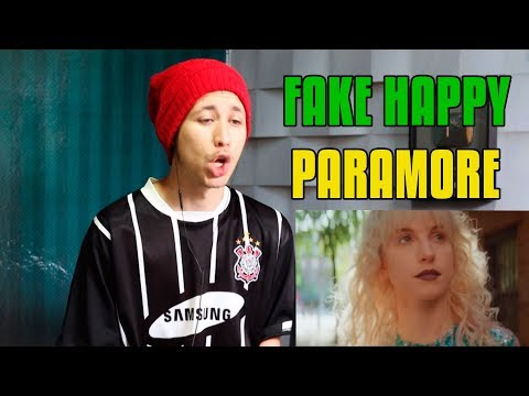 REACT Paramore: Fake Happy [OFFICIAL VIDEO]