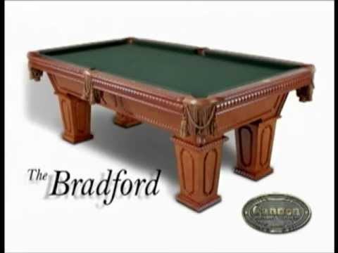 CANNON Billiards Pool Tables Best Construction YouTube - Cannon pool table