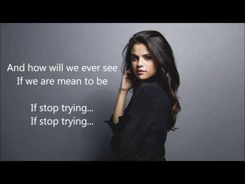 Losing Control - Selena Gomez ft. Major Lazer (lyrics)