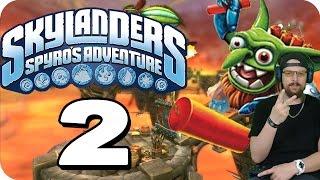 Skylanders Spyros Adventure PART 2 - Sky-Schoner Hafen Kapitel 2 [HD]