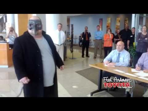 Fred Anderson Toyota Raleigh >> Fred Anderson Toyota Raleigh Nc Halloween 2013 Employee Costume