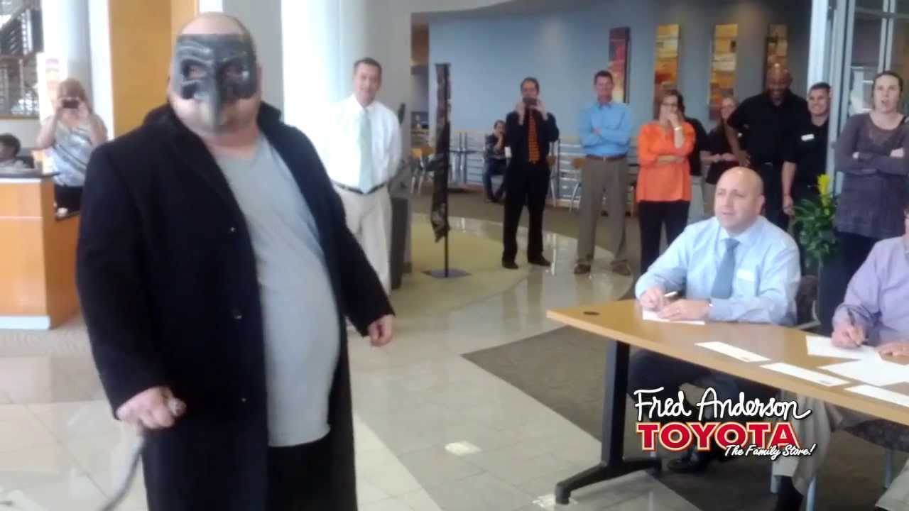 Attractive Fred Anderson Toyota   Raleigh, NC   Halloween 2013 Employee Costume  Contest   YouTube